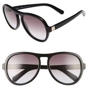 Chloe dark navy sunglasses